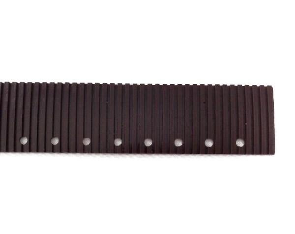 Резина для прямого сквиджа передняя коричневая для RA431
