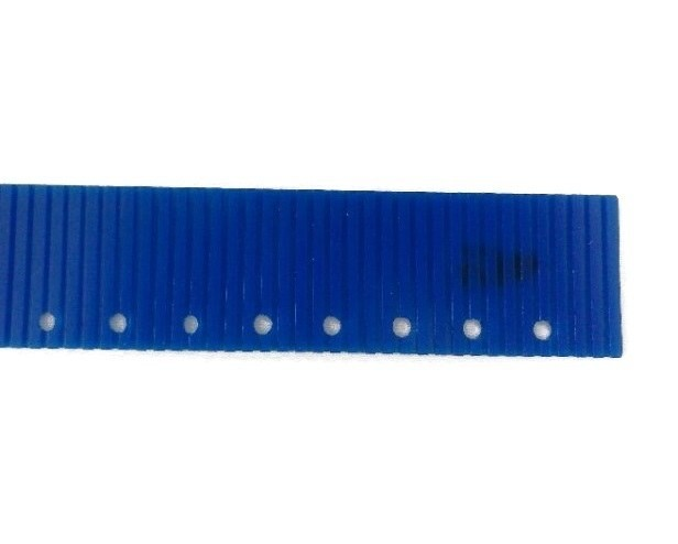 Резина для прямого сквиджа задняя синяя для RA431