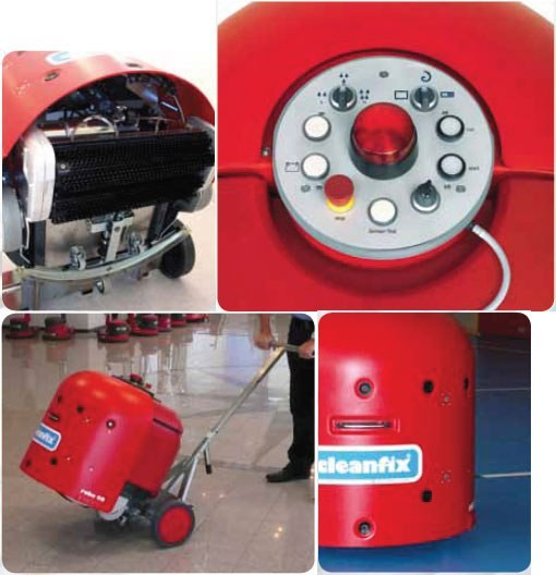 Поломоечная машина Cleanfix Robo 40 S робот c навигационной системой Curona