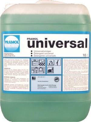 UNIVERSAL Pramol для чистки всех водостойких поверхностей 10 л