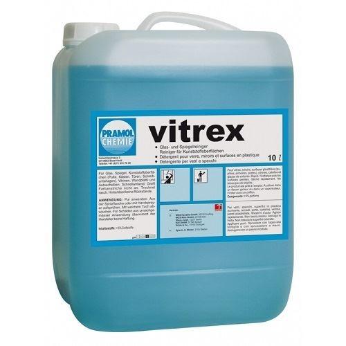 VITREX Pramol для стеклянных, зеркальных и пластиковых поверхностей, на основе спирта
